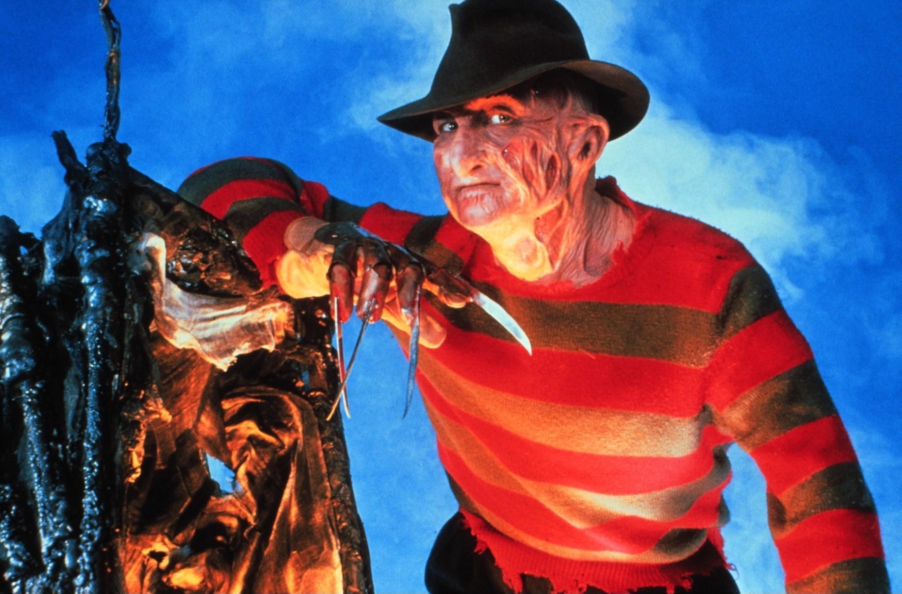 Nightmare 5 - Das Trauma (A Nightmare on Elm Street: The Dream Child, USA 1989, Regie: Stephen Hopkins) Robert Englund (als F