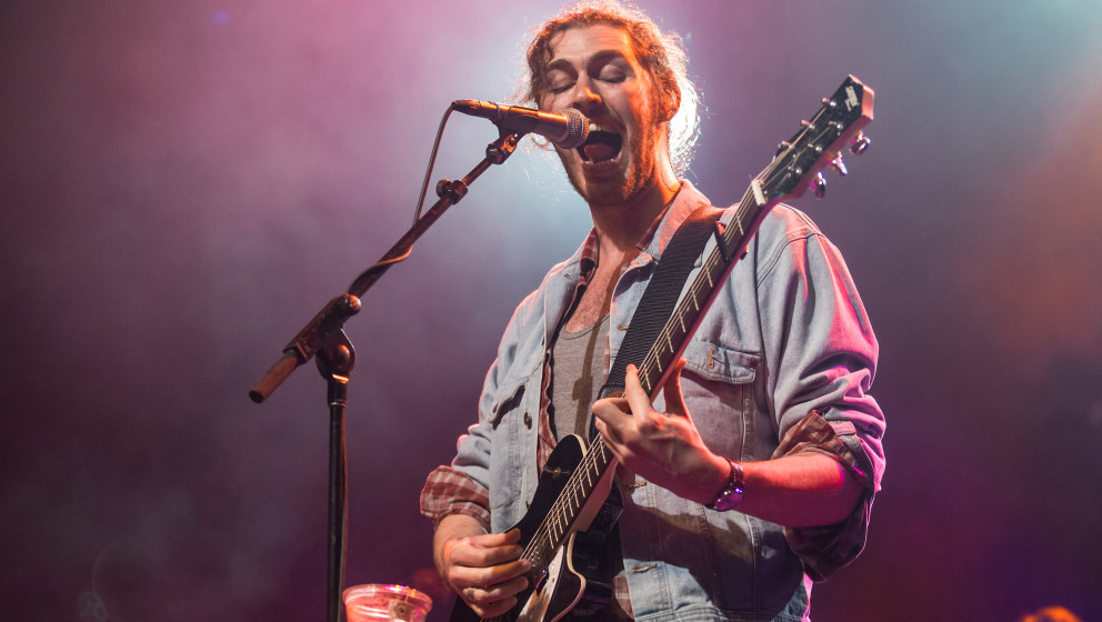 SAN FRANCISCO, CA - OCTOBER 17:  Hozier performs at Grand Regency Ballroom on October 17, 2014 in San Francisco, California.