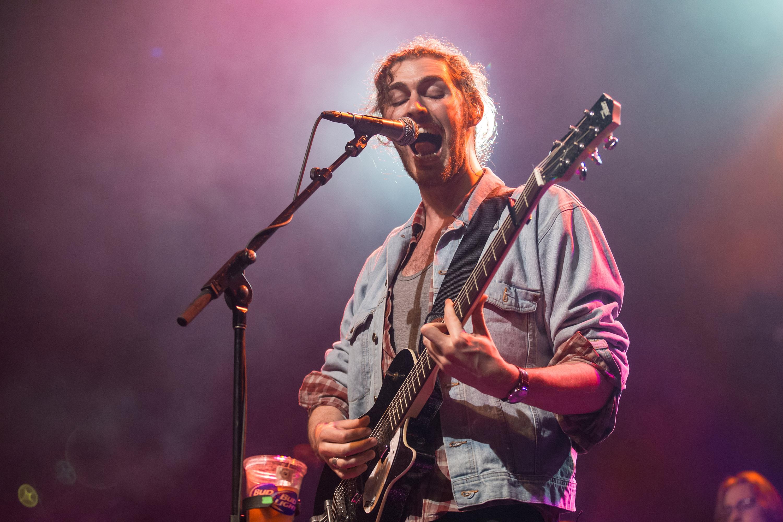 SAN FRANCISCO, CA - OCTOBER 17:  Hozier performs at Grand Regency Ballroom on October 17, 2014 in San Francisco, California.
