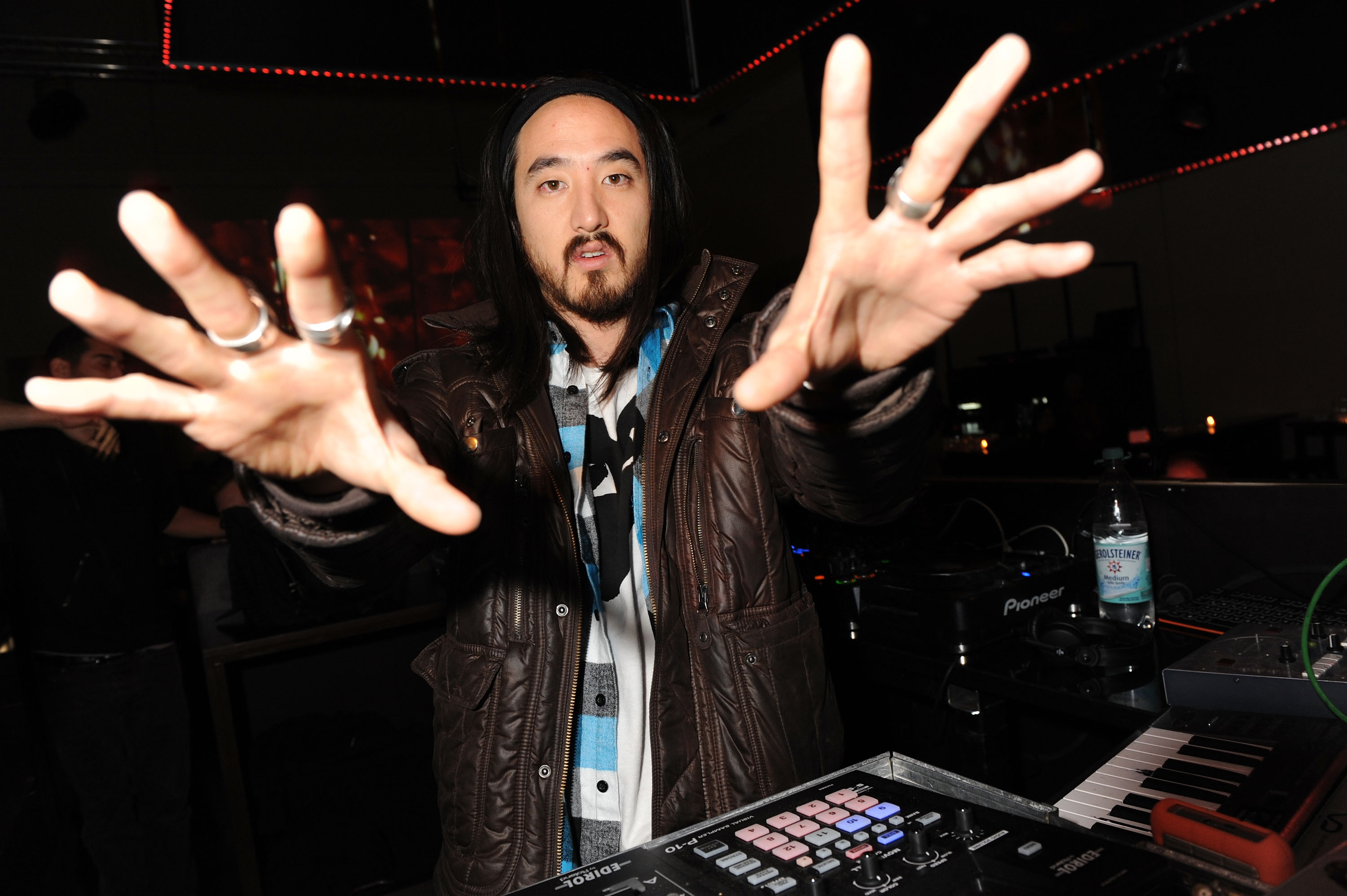 MUNICH, GERMANY - NOVEMBER 12: DJ Steve Aoki attends the 'Grand Opening' Party at the P1 on November 12, 2009 in Munich, Germ