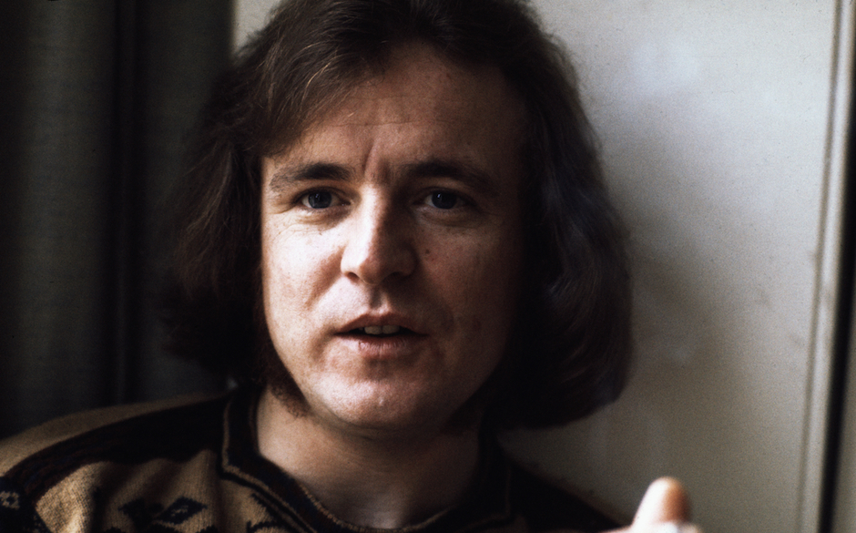 Jack Bruce who played with Cream, Blind Faith Carla Bley etc etc photographed mid 1970's