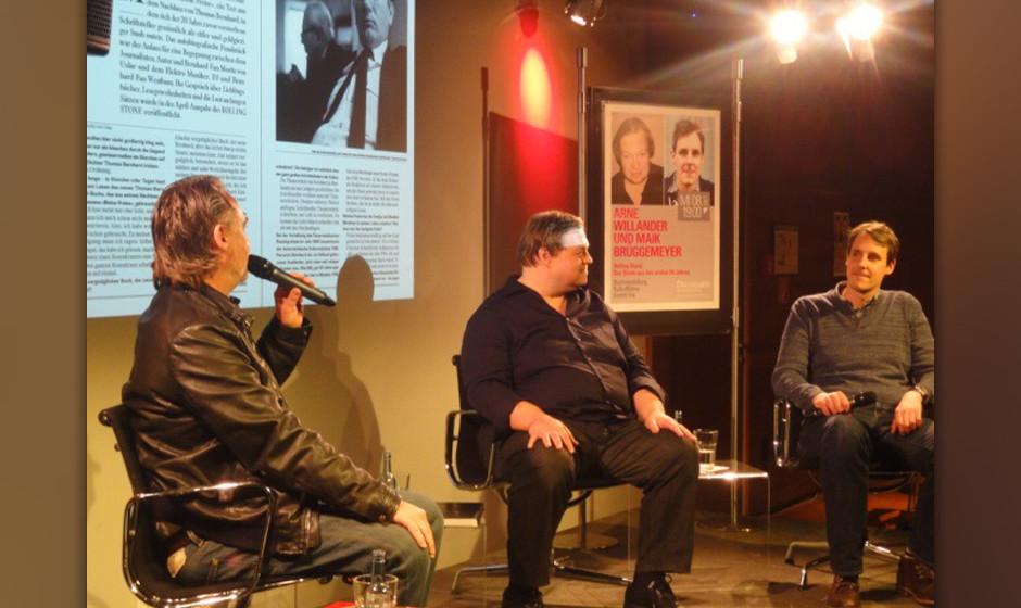 20 Jahre ROLLING STONE: So war die Buchpräsentation im Kulturkaufhaus Dussmann in Berlin