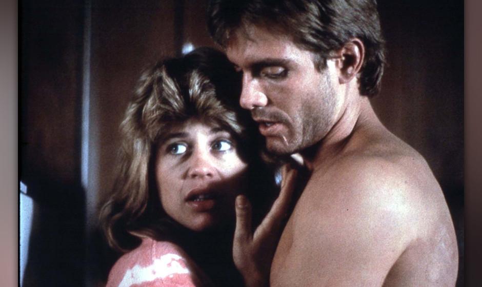THE TERMINATOR [US 1984]  LINDA HAMILTON, MICHAEL BIEHN     Date: 1984 (Mary Evans Picture Library) Keine Weitergabe an Dritt