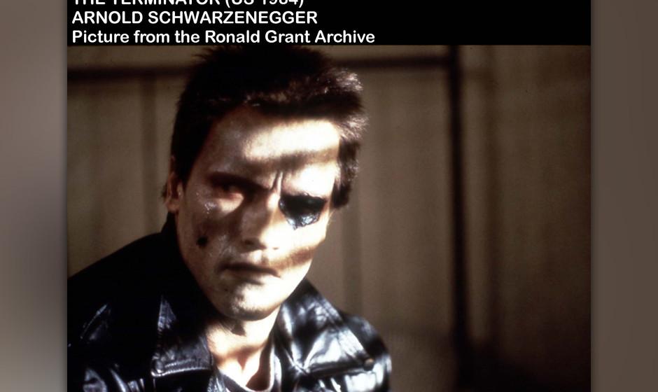 THE TERMINATOR [US 1984]  ARNOLD SCHWARZENEGGER     Date: 1984 (Mary Evans Picture Library) Keine Weitergabe an Drittverwerte