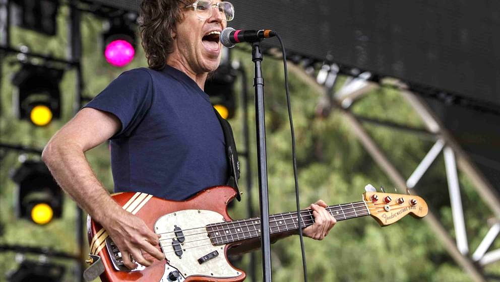 PEMBERTON, BC - JULY 20:  Chris Murphy of Sloan performs during Day 3 of Pemberton Music and Arts Festival on July 20, 2014 i