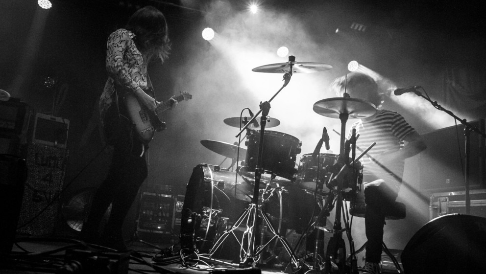 Blood Red Shoes beim ROLLING STONE Weekender 2014