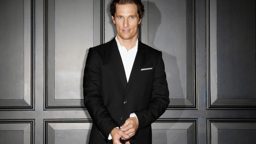BERLIN, GERMANY - APRIL 06:  Actor Matthew McConaughey attends 'Der Mandant' (The Lincoln Lawyer) - Berlin photocall at Hotel