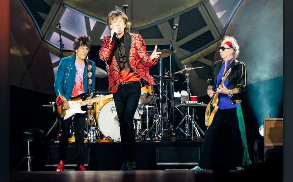 Platz 4 der größten Irrtümer: Die Rolling Stones werden auf ihre letzte Tournee gehen.
