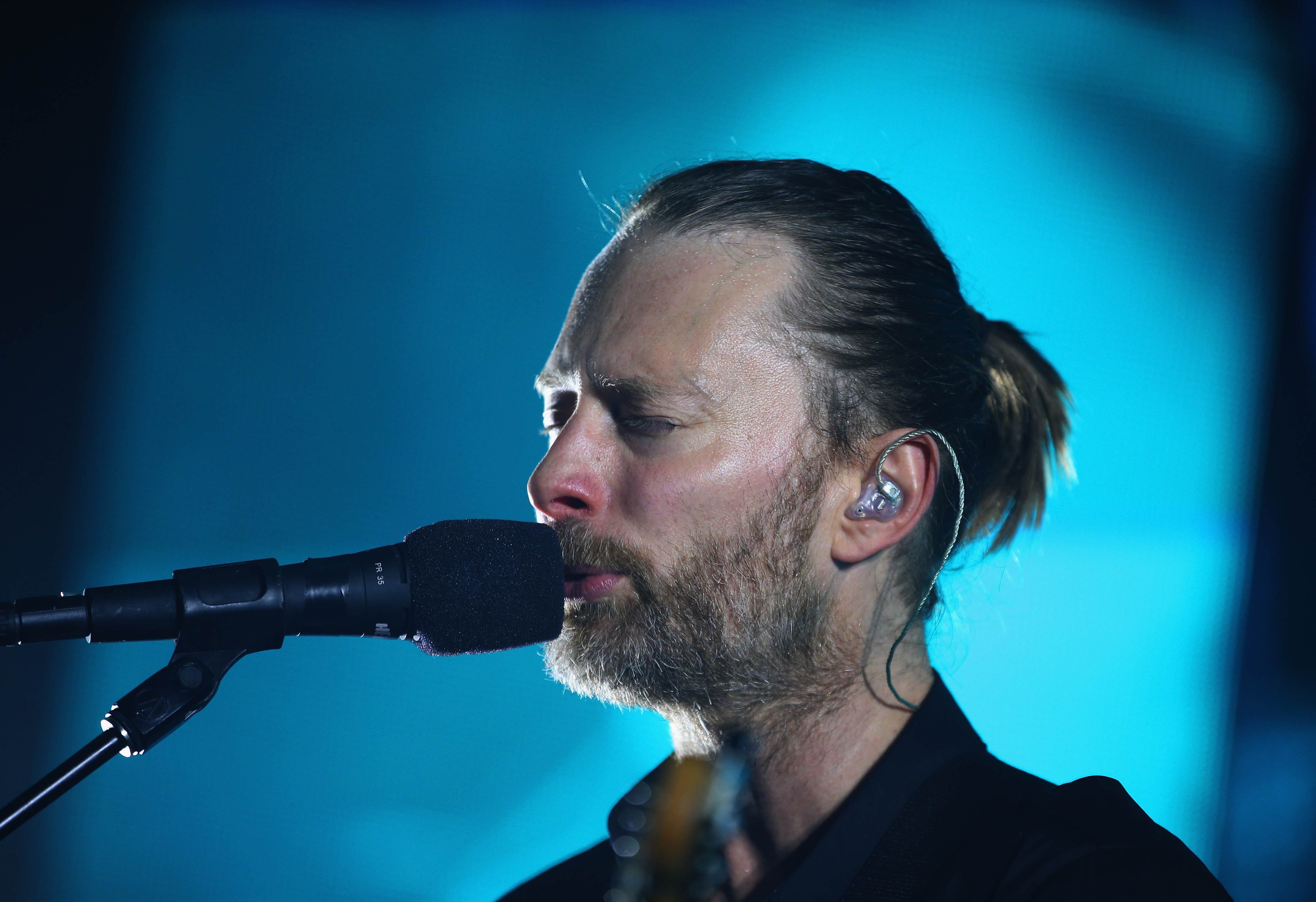 AUCKLAND, NEW ZEALAND - NOVEMBER 06:  Thom Yorke of Radiohead performs at Vector Arena on November 6, 2012 in Auckland, New Z