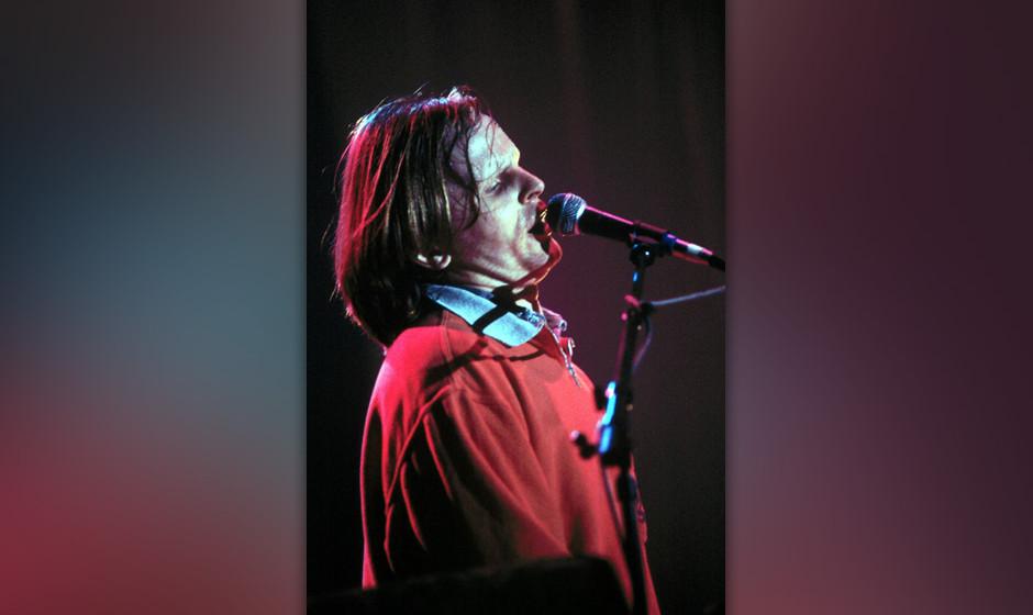Herbert Grönemeyer, Live auftritt,;Mikrophon., (Photo by Peter Bischoff/Getty Images)