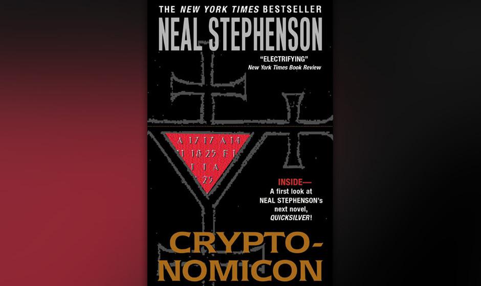 """4. Neal Stephenson: """"Cryptonomicon"""" (2001) Math Rules. Auch bei der Jagd nach dem Nazi-Schatz. Der Decodierungs-Thriller,"""