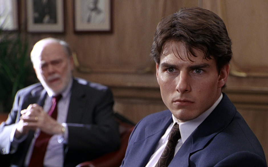 Tom Cruise in 'The Firm', 1994. Regie: Sydney Pollack