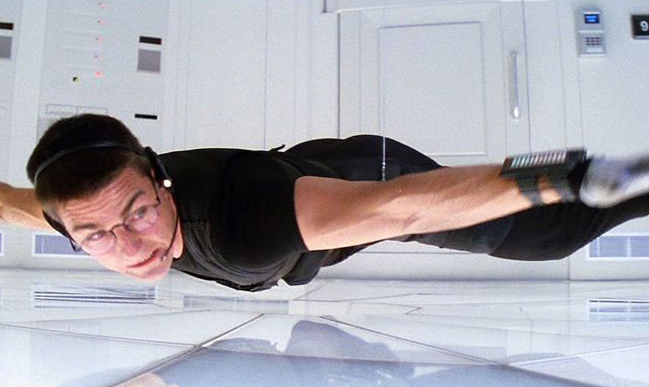 Tom Cruise in 'Mission: Impossible' 1996.