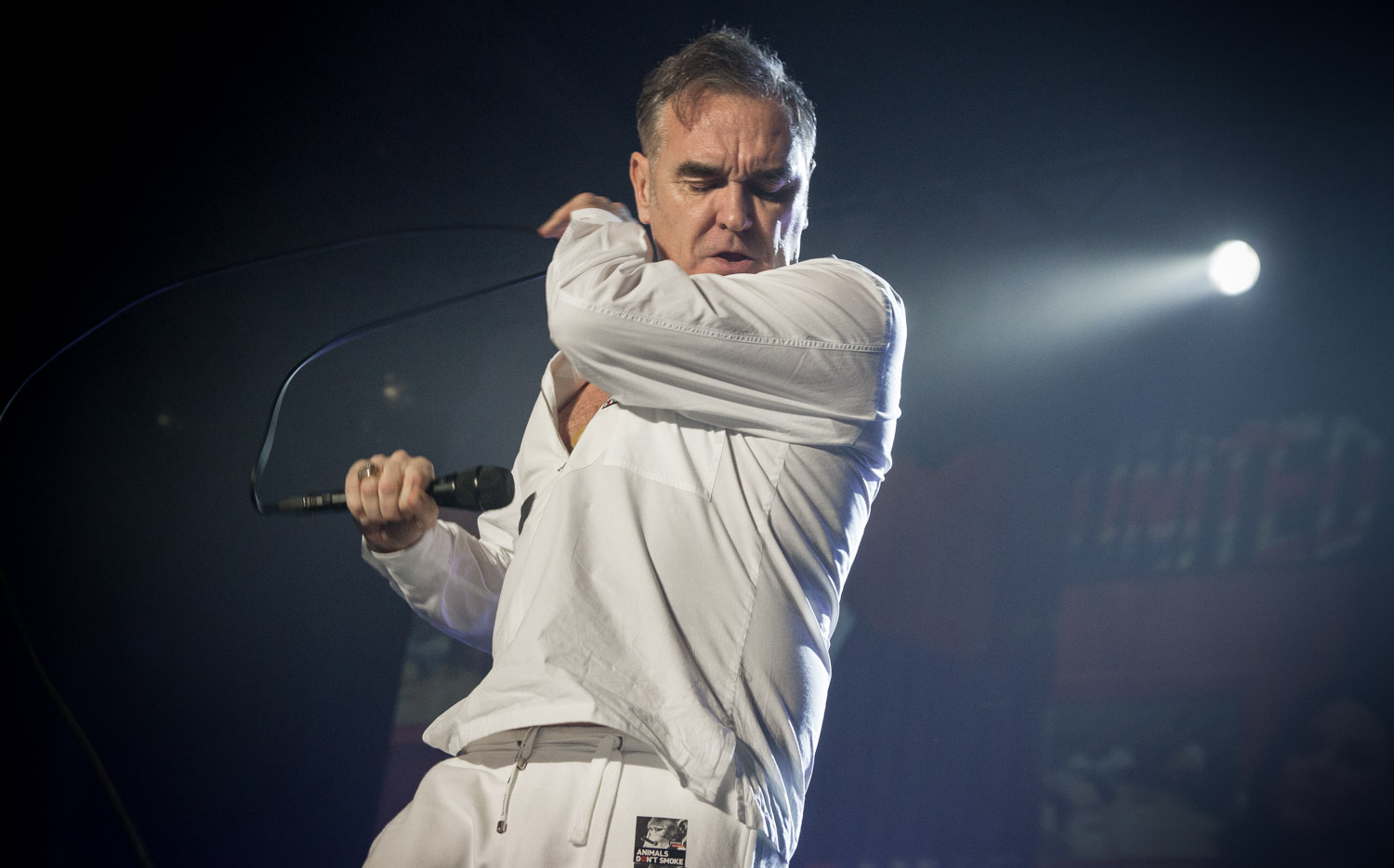 Morrissey live in Berlin