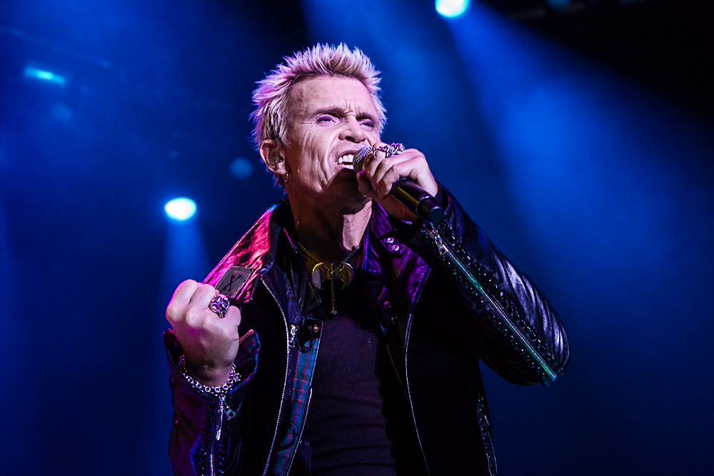 Billy Idol live in Nürnberg