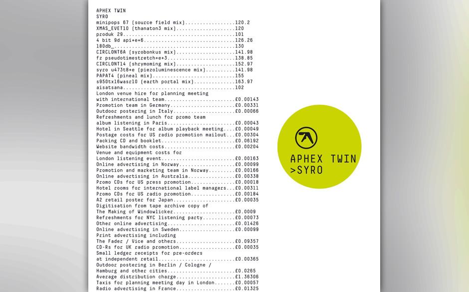 Aphex Twin - 'Syro'