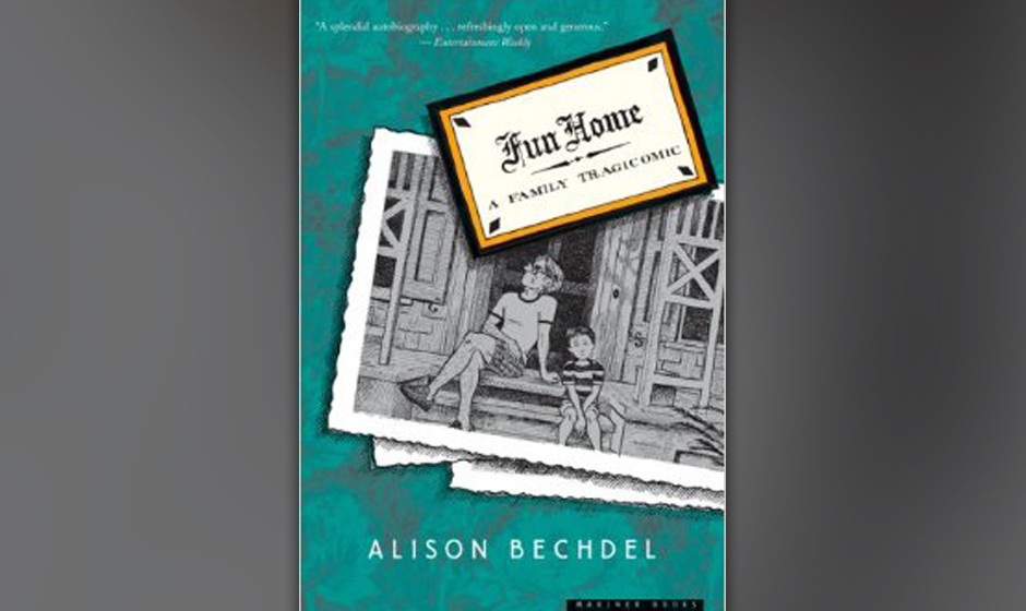 "10. ""Fun Home"" (Alison Bechdel, 2006)"