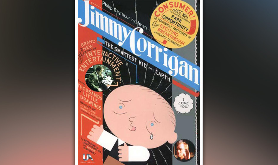 "4. ""Jimmy Corrigan, The Smartest Kid On Earth"" (Chris Ware, 2000)"