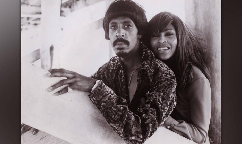 Ike and Tina TURNER1970Collection Gilles Pétard