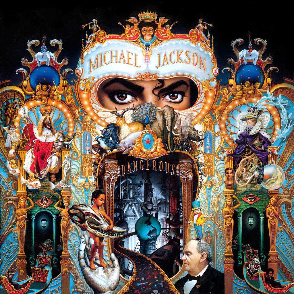 """Die Karriere Michael Jacksons enthielt viele Markierungen, zum Beispiel das  erfolgreichste Album aller Zeiten (""""Thriller"""", 1982), ..."""