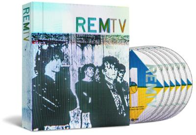 'REMTV' mit sechs DVDs aus der MTV-Ära der Band.