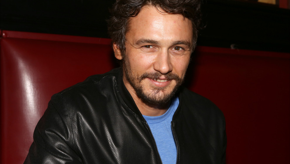 NEW YORK, NY - MAY 21:  James Franco attends the 'Of Mice And Men' portait unveiling ceremony at Sardi's on May 21, 2014 in N