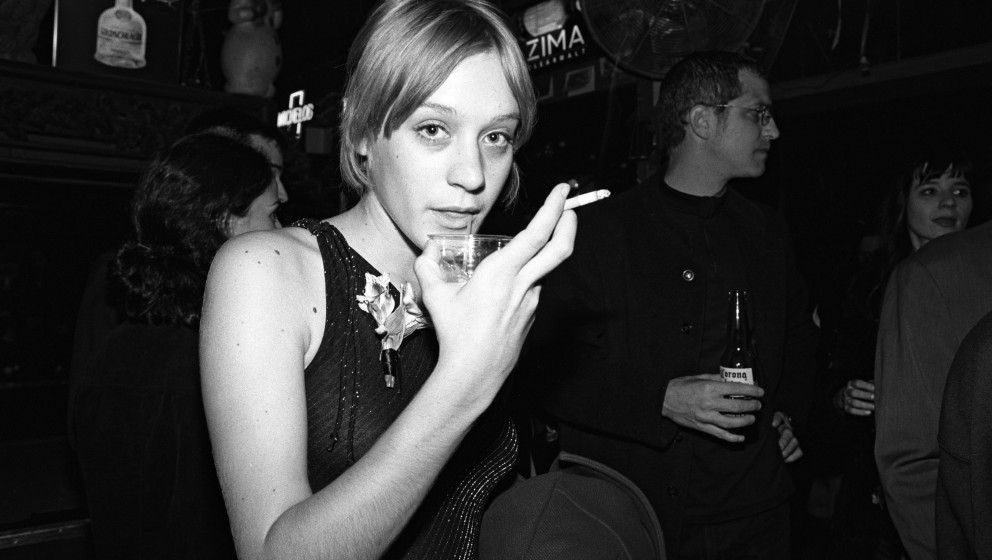NEW YORK - OCTOBER 1996:   American actress Chloe Sevigny poses for a photo at a party for the film 'Trees Lounge' in October