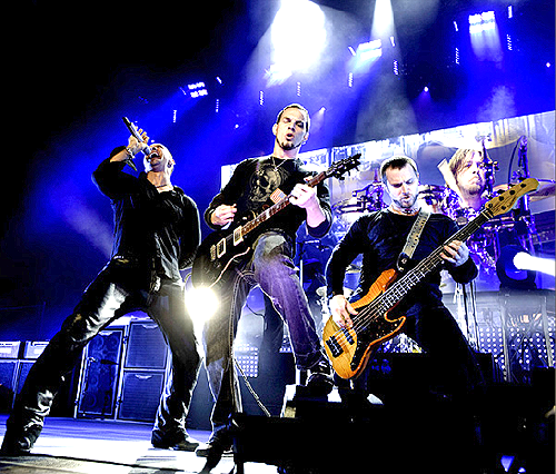 Creed, live, 2009