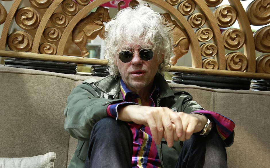 NEW DELHI, INDIA - MARCH 21: Irish singer-songwriter, author, occasional actor and political activist Robert Frederick Zenon