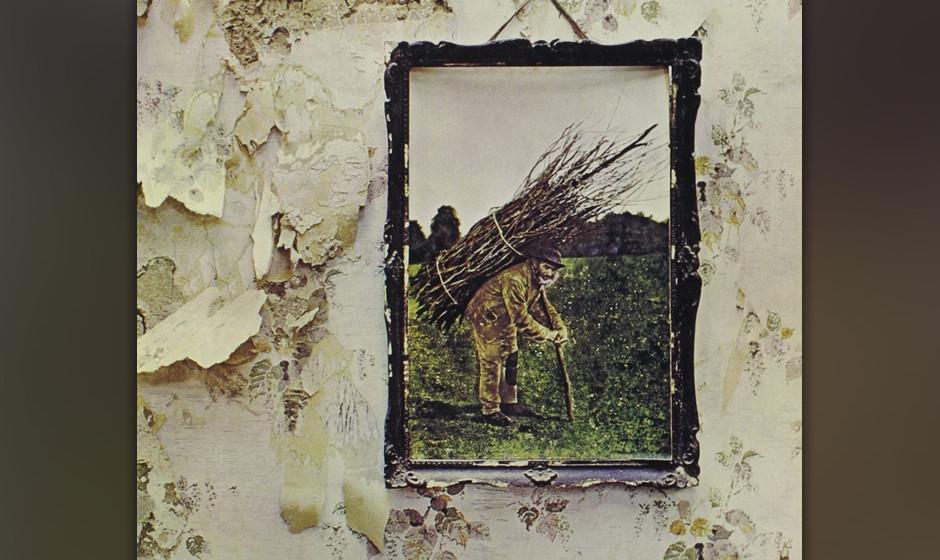 ...und Led Zeppelin schaffen auch mit dem neusten Stapel ihrer Reissues ein ordentliches Charts-Comeback: 'Led Zeppelin IV' e