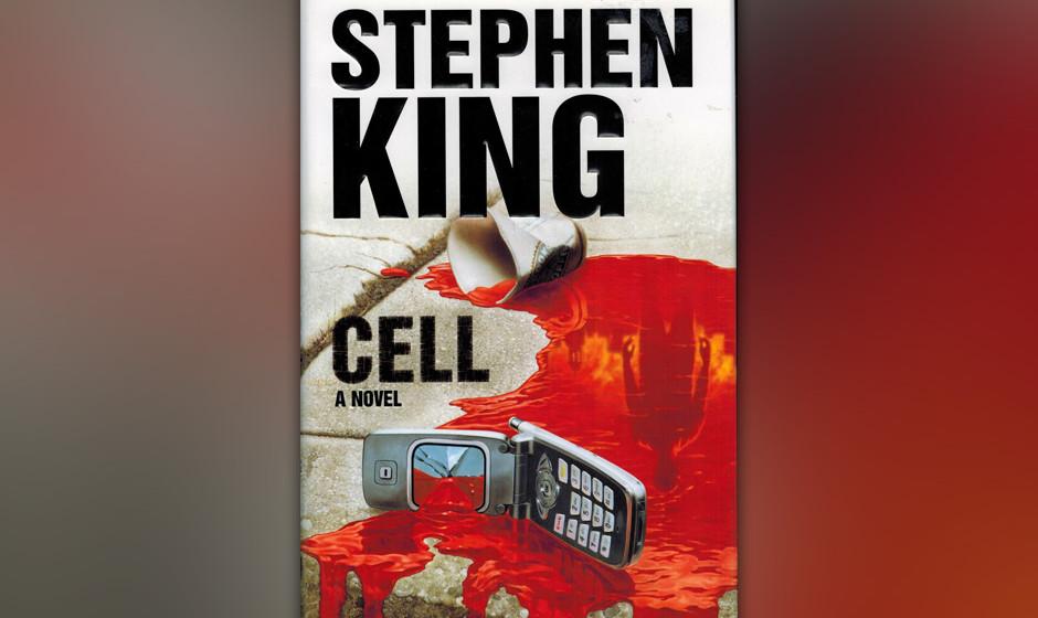 10. Cell (2006).  Vielleicht seine am schnellsten erzählte Story, schon nach wenigen Seiten greifen die Zombies an. Aber auc