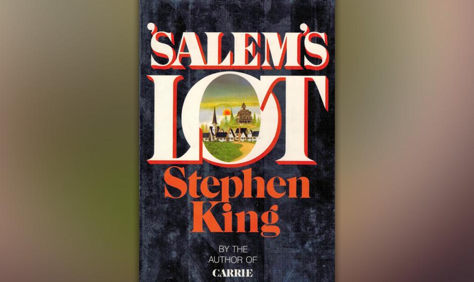 13. Salem's Lot (1975).  Mit seinem Nachfolger zum Romandebüt 'Carrie' suchte King sich ein scheinbar sicheres Horror-Terrai