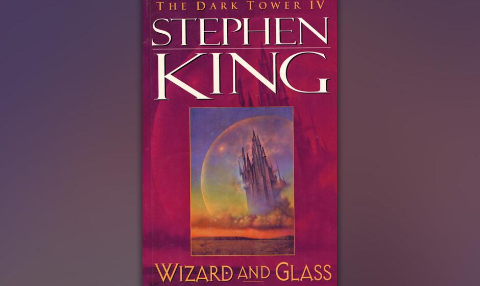 8. The Dark Tower IV: Wizard and Glass (1997).  Der vierte Roman der 'Dunklen Turm'-Reihe ist auch der beste. Er erzählt die