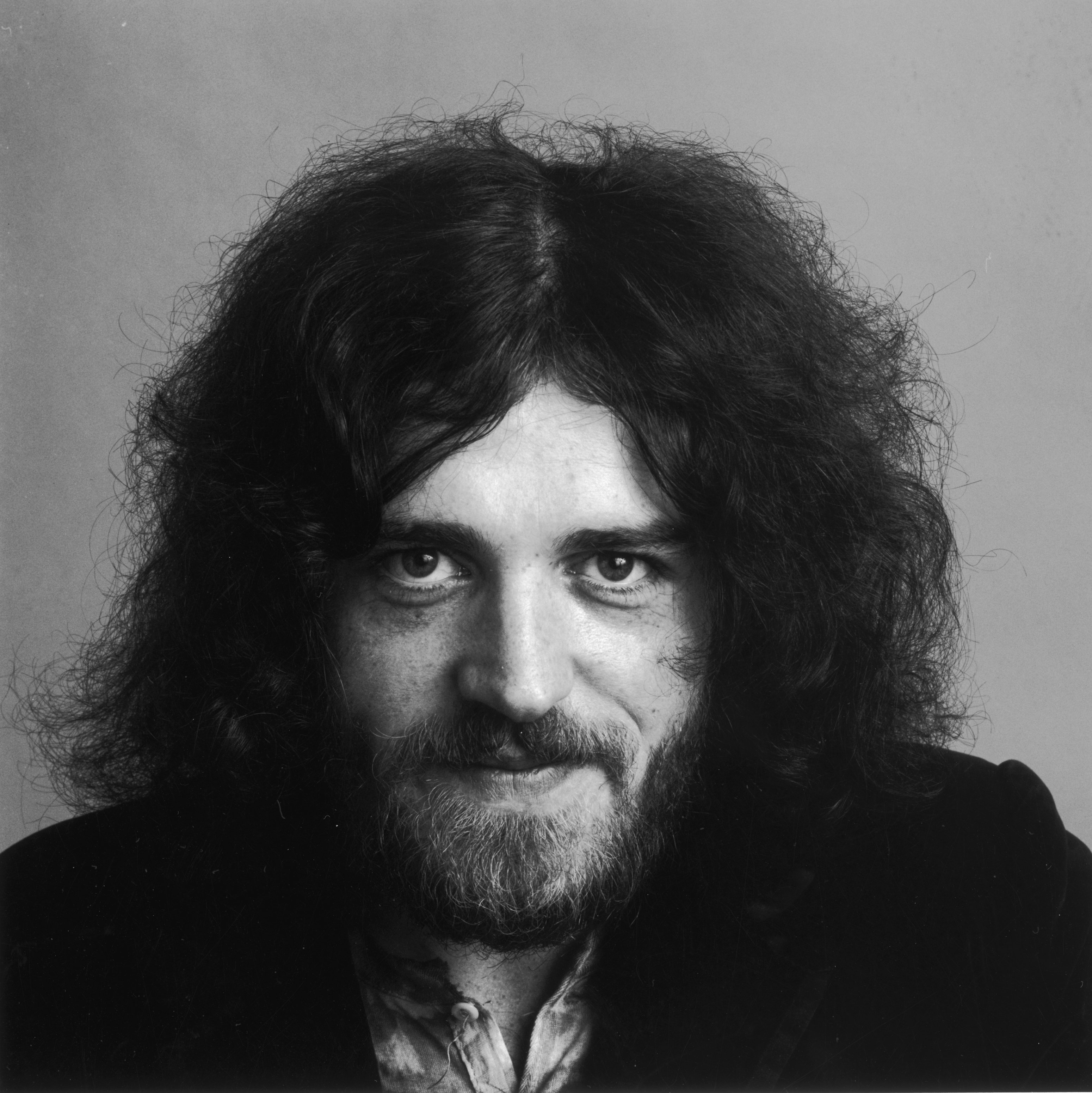 21st November 1969:  Studio headshot portrait of British rock singer Joe Cocker.  (Photo by Jack Robinson/Hulton Archive/Gett