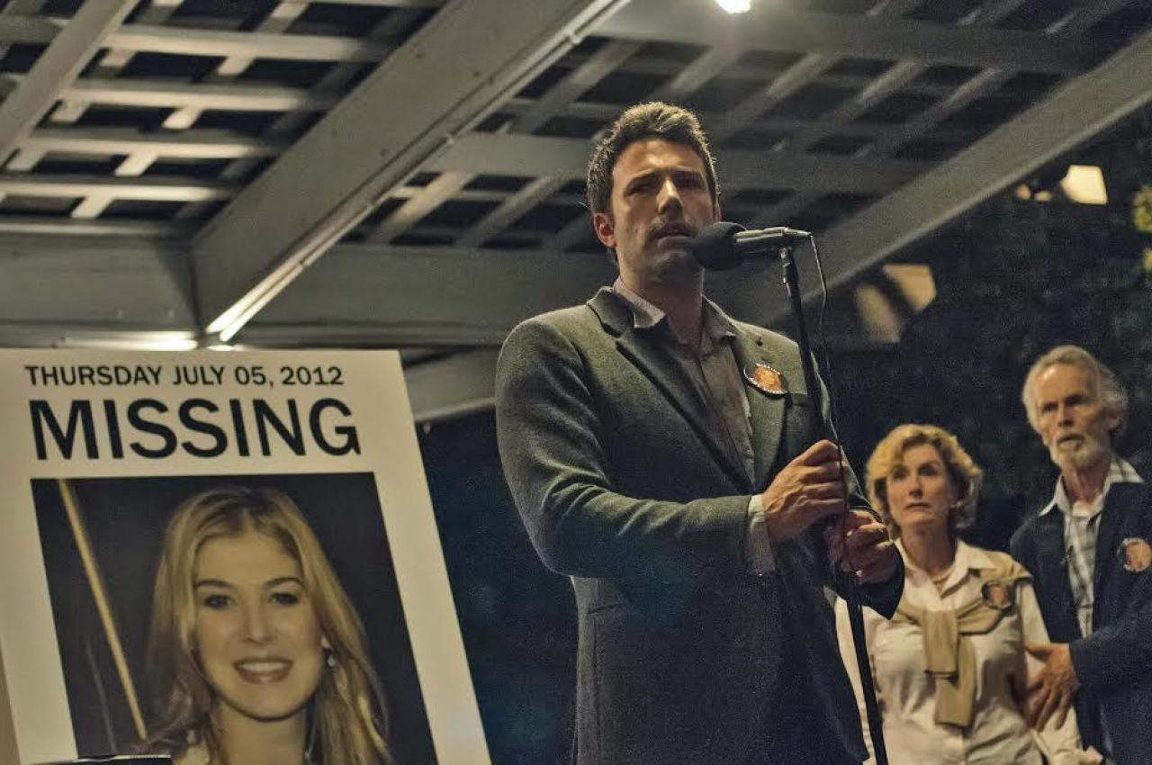 5. Gone Girl  David Finchers verzwicktes Krimi nach einer Vorlage von Gillian Flynn ist zugleich auch ein satirisch angehauch