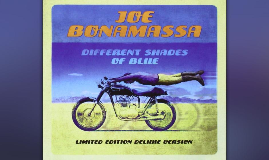 Joe Bonamassa, 'Different Shades Of Blue': 2 Sterne. Etwas zu feister Bluesrock - alles zu fett und feierlich.