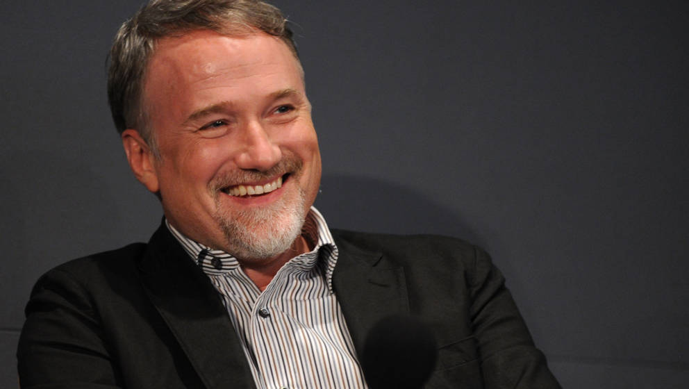NEW YORK - SEPTEMBER 23:  Director David Fincher visits the Apple Store Soho on September 23, 2010 in New York City.  (Photo