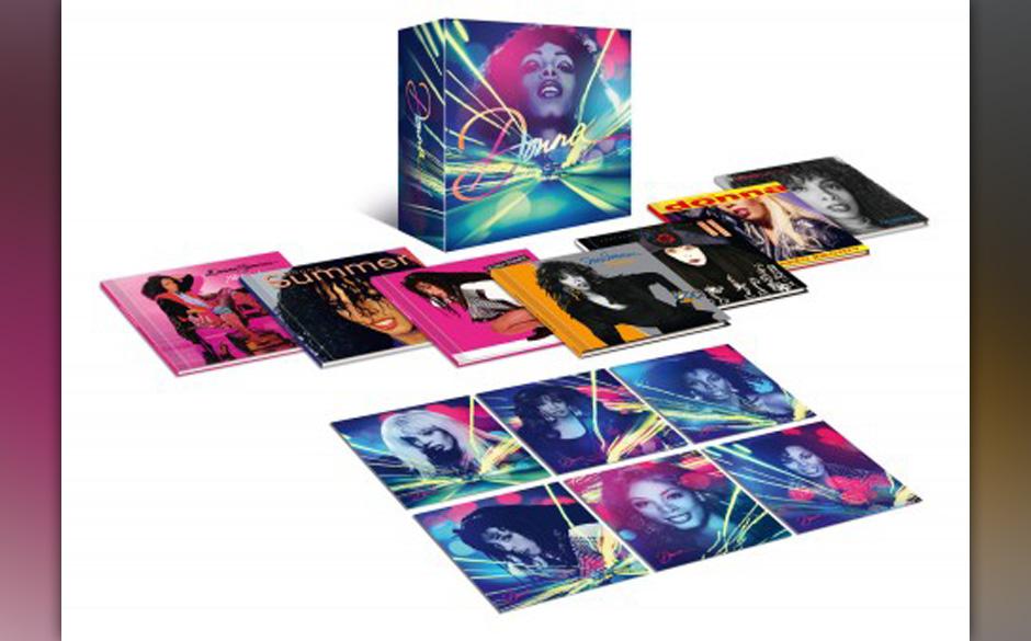 Auch Fans von Donna Summer dürfen dieses Weihnachten besonders glücklich gemacht werden. Als CD- und Vinyl-Box erhältlich.