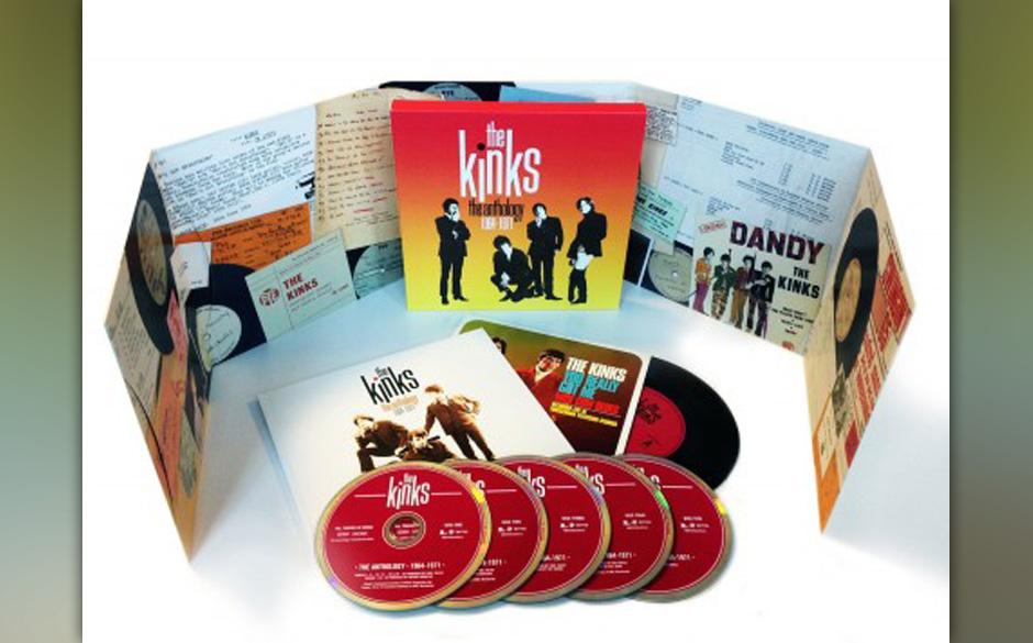 50 Jahre The Kinks. Natürlich wird das mit einer Box geehrt und natürlich ehren Sie damit Weihnachten auch jeden Fan.