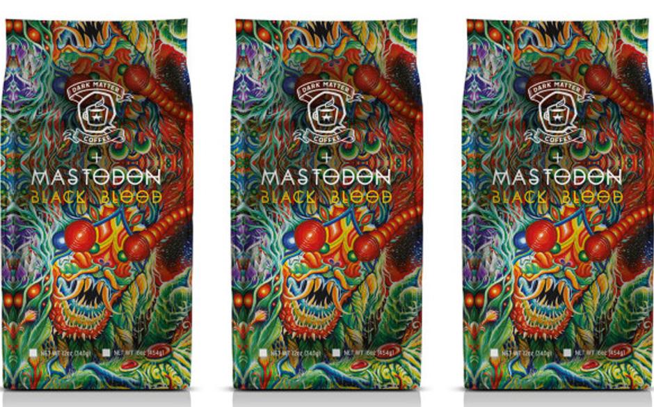 Steht Mastodon drauf, ist aber Kaffee drin - bzw. 'Black Blood'. Natürlich extra stark!