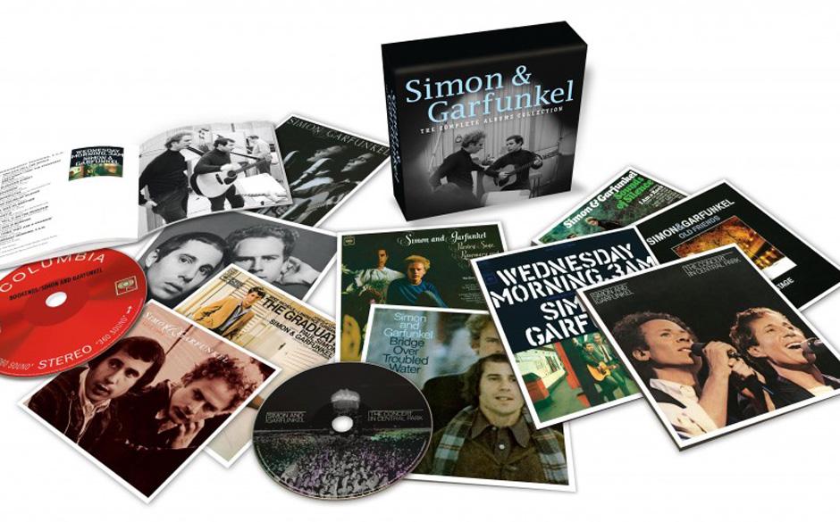 Simon and Garfunkel - 'The Complete Albums Collection': Sämtliche Studioalben, die Livekonzerte, der Soundtrack zu 'The Grad
