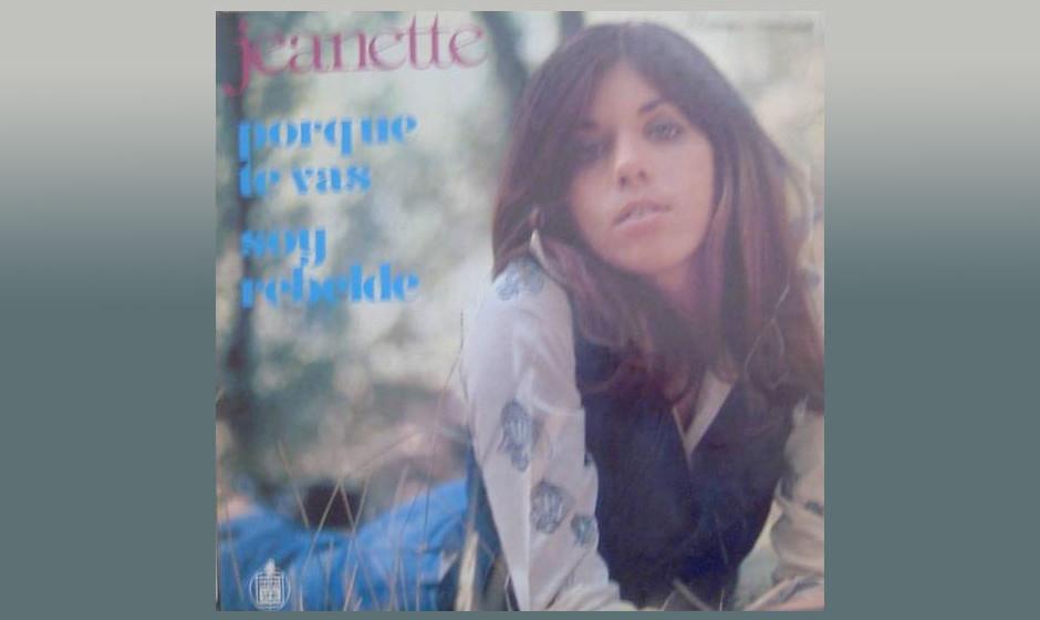 """Jeanette – Porque te vas (1977) Eigentlich wurde das Stück bereits 1974, doch erst die Verwendung im Film """"Züchte Raben"""
