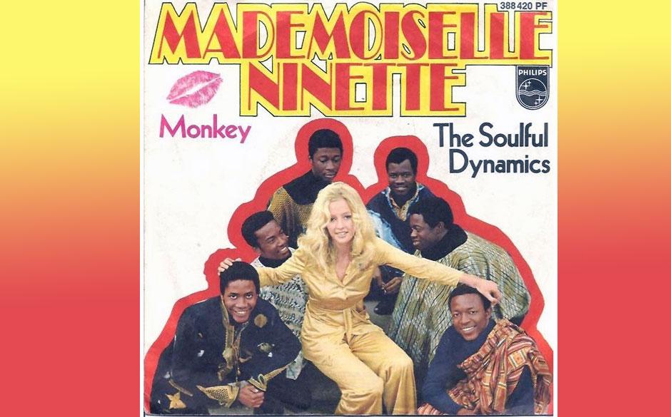 """Soulful Dynamics  - Mademoiselle Ninette (1970) Die Band aus Liberia gelangte 1969 nach Hamburg. 1970 hatten sie mit """"Madem"""