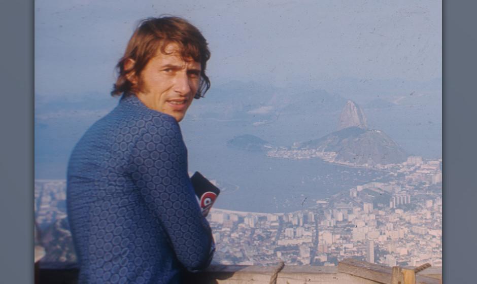 Udo Jürgens (Sänger, Schlagersänger), Urlaub, Ferien, Rio de Janeiro/Brasilien, 01.08.1971, Ausblick, Promis, Prominenter,