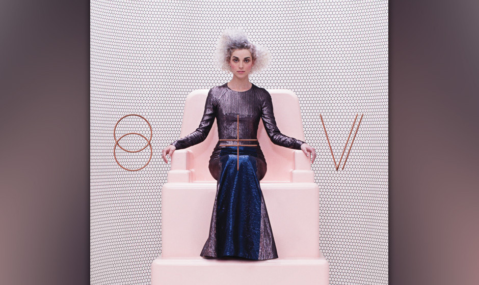 23. St. Vincent - 'St. Vincent' Mit jedem Album wird klarer, dass Annie Clark ihr Alter Ego St. Vincent als Gesamtkunstwerk g