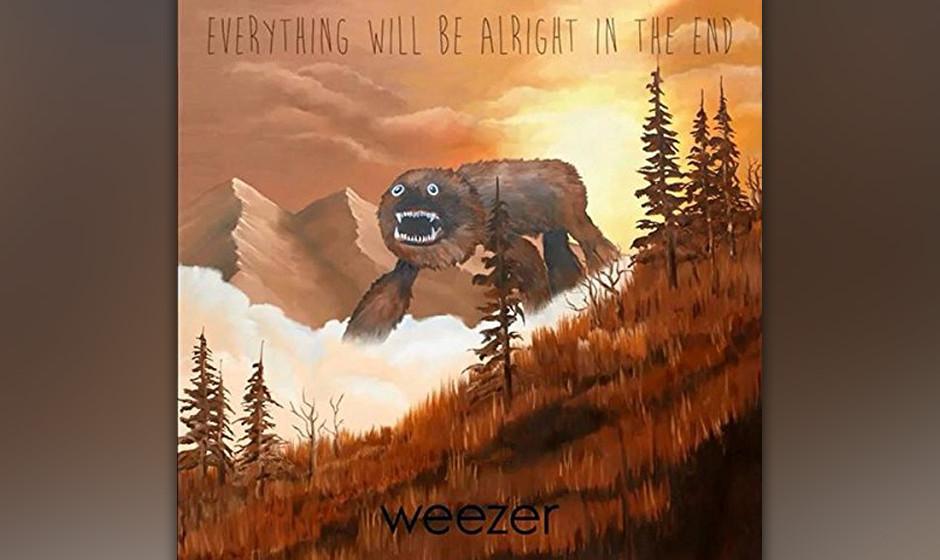 Weezer, 'Everything Will Be Alright In The End': 2 Sterne. Rivers Cuomos Rückkehr zum alten Slacker-Rock wirkt schal und Wee