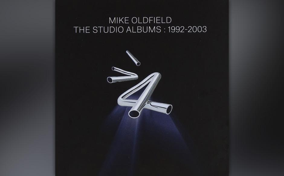 Mike Oldfield, 'The Studio Albums 1992-2003': 2 Sterne. Bizarre Mischung aus Computer-Hintergrundmusik, Progressive-Pop und N