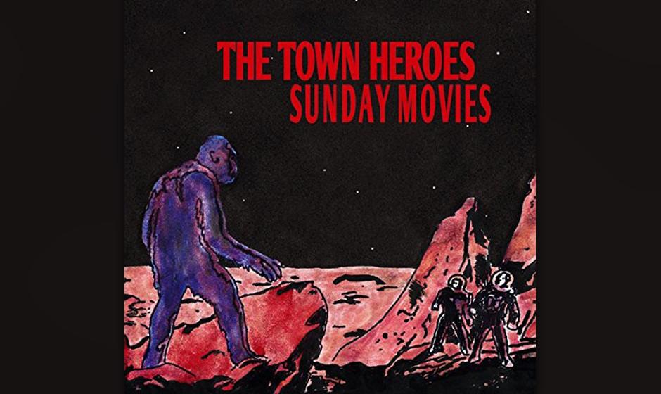 The Town Heroes, 'Sunday Movies': 1 Stern. Ermüdet mit monotonen Riffs und bedient sich dreist bei Jack White.