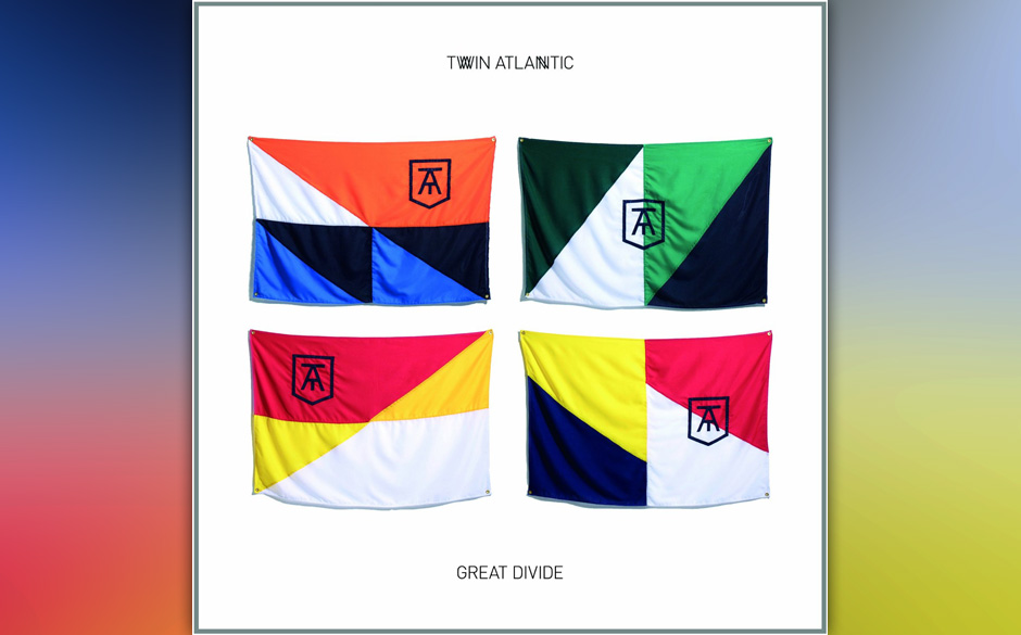 Twin Atlantic, 'Great Divide': 1,5 Sterne. Überfrachteter Mainstream-Rock: Sänger Sam McTrusty hyperventiliert, als stünde