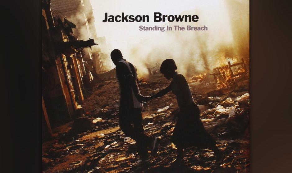 Jackson Browne, 'Standing In The Breach': 2 Sterne. Betuliche Besinnungssongs zwischen Liebe und globalem Elend.